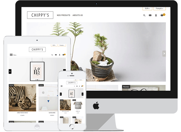 Template Chippy's - PrestaShop 1.6