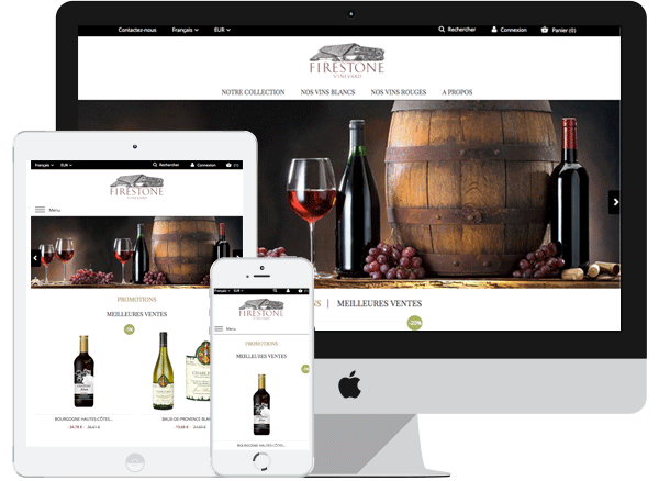 Template Firestone - PrestaShop 1.6